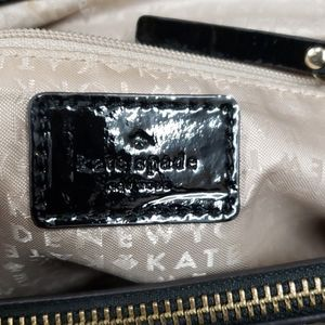 kate spade Bags - Kate Spade black patent leather bag